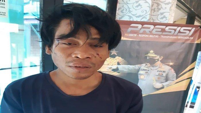 Rampas Ponsel Korbannya, Pencuri di Simpang Patal Palembang Jatuh, Pelaku Jadi Bulan-bulanan Warga