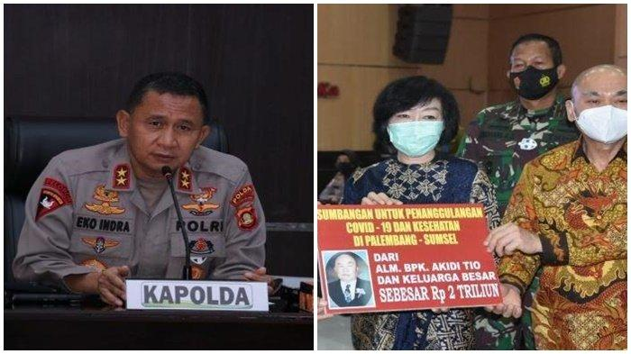 Prof Hardi : Bantuan Rp 2 Triliun akan Ditransfer ke Kapolda Sumsel Irjen Eko Indra Heri