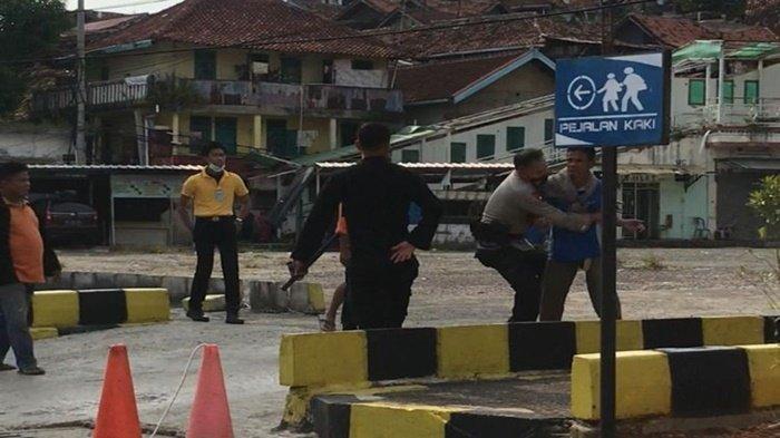 Aksi Heroik Bripka Muazam, Anggota Brimob Polda Lampung yang Ringkus Penumpang KA yang Mengamuk