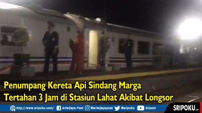 3 Jam tak Bisa Dilintasi, Jalur KA Palembang-Lubuklinggau Kembali Normal, Kecepatan Kereta Dibatasi