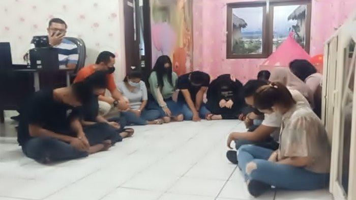 Tujuh Pasangan belum Nikah Terjaring Razia di Palembang, Sekamar Ada Tiga Hingga Empat Pasang