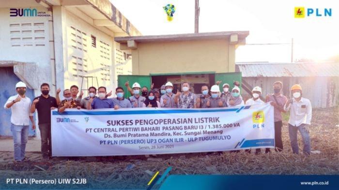 UP2K Sumsel dan UIP Sumbagsel Kolaborasi Melistriki Desa Mandhira dan Industri Captive Power
