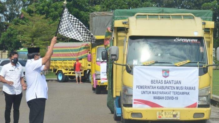 5664 KK di 8 Kecamatan di Musirawas Terima Bansos, Termasuk Pegawai Non ASN RSUD Sobirin