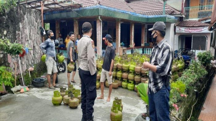 Penyaluran tabung LPG 3 Kg Bersubsidi ke pangkalan