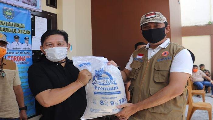 Pemkab OKU Selatan Bantu 10 Kg Beras Premium untuk 44.243 Keluarga Kurang Mampu Terdampak Corona