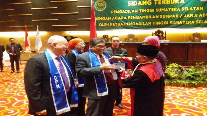 Modernisasi Penyelenggaraan Peradilan, Peradi Sumsel Sosialisasi Perma e-Court, Bisa Via Online