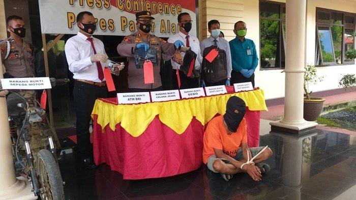 Pengakuan Mantan Satpam, Deposit Rp 35 Juta Hasil Merampok BRI Pagaralam, untuk Judi Online