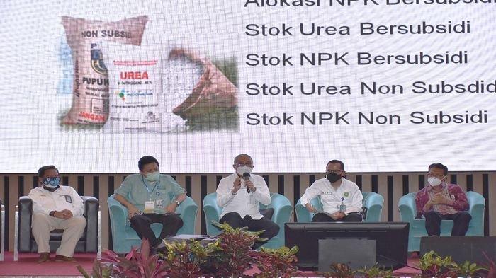 Guna mendukung Pemerintah Provinsi Sumatera Selatan dalam Memperkuat Sumatera Selatan sebagai Lumbung Pangan Nasional, PT Pusri Palembang laksanakan penandatanganan Memorandum of Understanding (MoU) Rabu (23/02/2021).