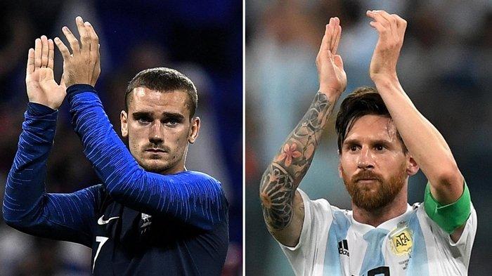 Analisa dan Prediksi Pertandingan Piala Dunia 2018 Perancis vs Argentina, Pukul 21.00 WIB