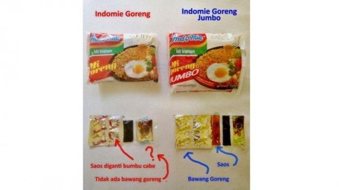 Indomie di Pulau Jawa dengan di Pulau Sumatera Ternyata Berbeda, Jika Jeli Coba Perhatian Bumbunya!