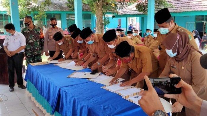Keamanan di Kecamatan Pasemah Air Keruh Empat Lawang Mulai Stabil, Pol-PP Desa Dijanjikan Naik Gaji