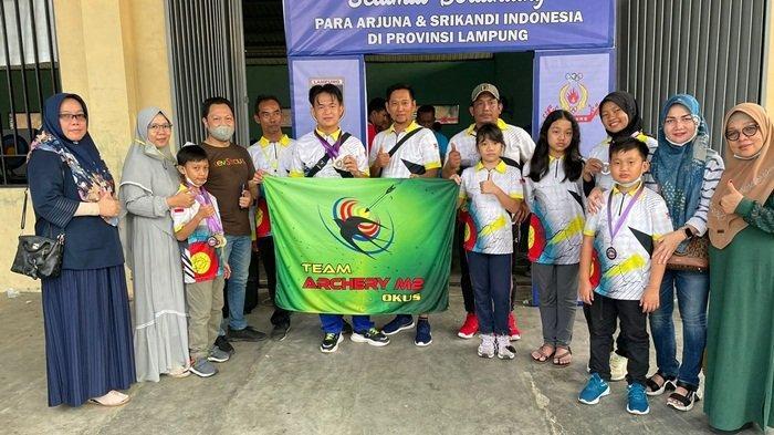 Perpani OKU Selatan Raih 11 Medali di Kejuaraan Lampung, Motivasi Jelang Porprov 2021 Sumsel