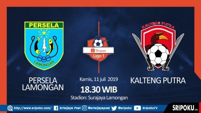 LINK Live Streaming Persela Lamongan vs Kalteng Putra Liga 1 2019, di Ochannel Bisa Nonton Lewat HP