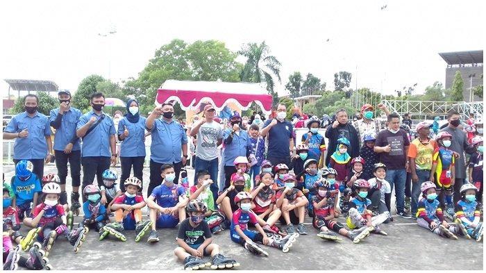 90 SkaterUnjuk Kemampuan, 90 Skater Porserosi Palembang Haus Event Jajal Selekot dan Fun Skate
