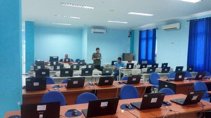 BKN Pastikan Instalasi Listrik dan Jaringan Tes CPNS di Palembang Aman