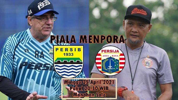 Link Live Streaming Persib vs Persija, Rene Dihantui Kutukan dan Buru Defisit 3 Gol di Manahan Solo
