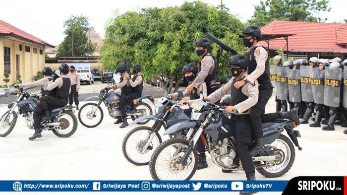 POLDA Sumsel Cek Kemampuan Personil Polres Musirawas, Kesiapan Pengamanan Pilkada Musirawas 2020
