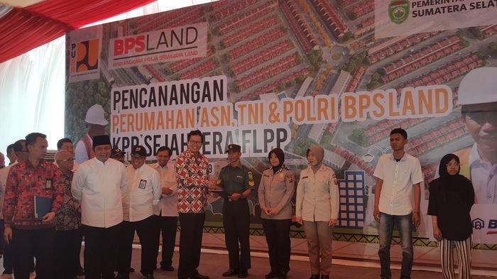 Khusus ASN TNI dan Polri di Palembang Bank BTN Berikan Kemudahan KPR dan DP 1 Persen Catat Syaratnya