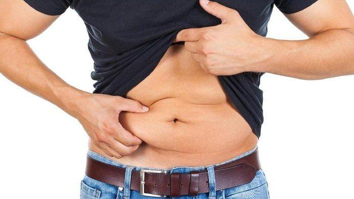 Perut buncit karena lemak