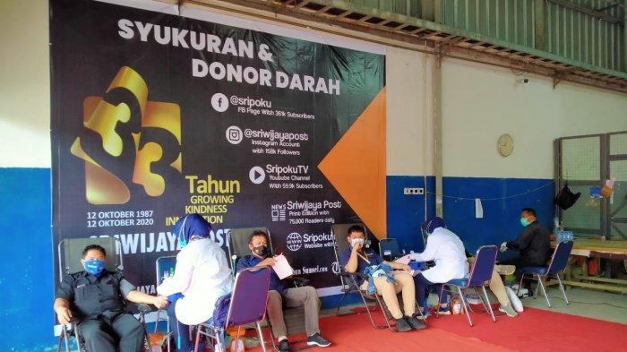 Permintaan Kantong Darah di PMI Kota Palembang Naik, Tapi Pendonor Minim, Ini Sebabnya