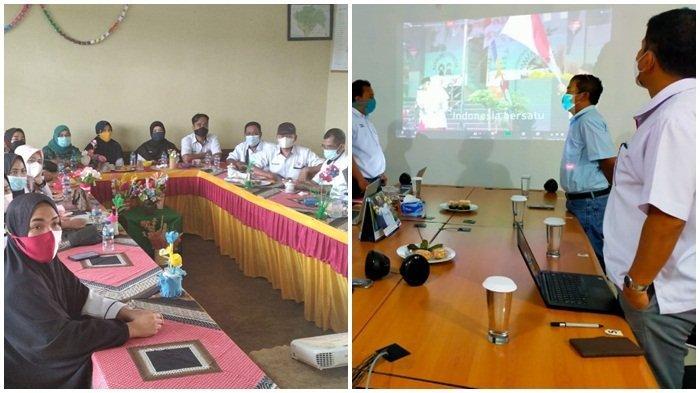 Peserta Webinar di Kalimantan Selatan dan Peserta di Sumatera Selatan (Sumsel)