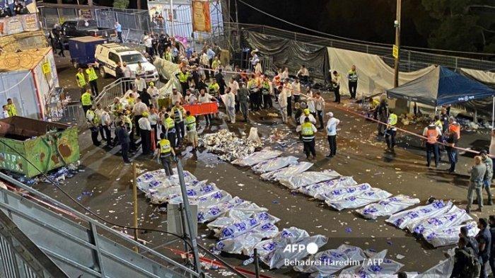 PANIK DITERIAKI Bom, Puluhan Orang Mati Terinjak-injak: Festival Api Unggun Yahudi Berakhir Tragis