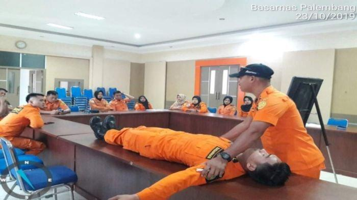 Waspada Bencana Alam di Sumsel, Basarnas Palembang Siagakan Personel, Dirikan Pos dan Alat Berat