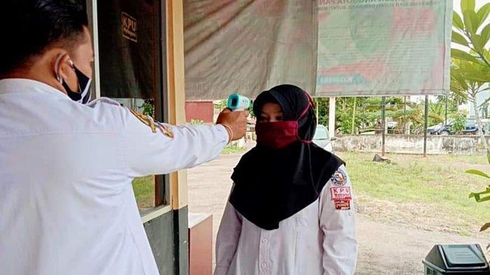 Masuk Kantor KPU Musirawas Wajib Terapkan Protokol Kesehatan, Tanpa Masker tak Boleh Masuk