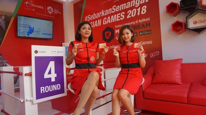 Peserta Asian Games 2018 Nyatakan Puas dengan Layanan Telkomsel