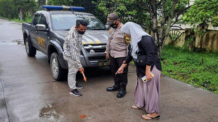 Terkejut Dipepet 2 Pria, Pedagang di Palembang Jatuh dari Motor lalu Pingsan, Tulang Kepala Retak