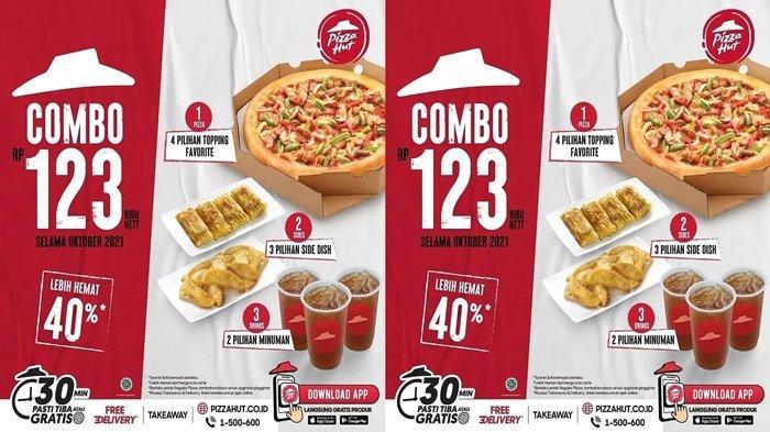 Promo Pizza Hut, Tiga Menu Diberi Harga Hemat Hanya Rp123 Ribuan Saja