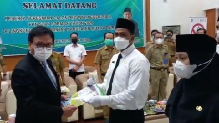 Pertama di Indonesia, 20 Lulusan PKN STAN Resmi Diangkat CPNS Pemkab Muaraenim