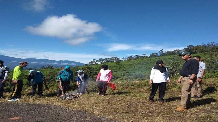Usai Libur Panjang, ASN Pagaralam Diajak Wako Bersih-Bersih Kawasan Wisata Pagaralam