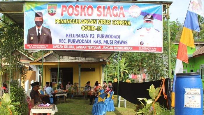 Terapkan 3 M Hingga Cegah Penyebaran, Pjs Bupati Musirawas Aktifkan Kembali Posko Siaga Covid-19