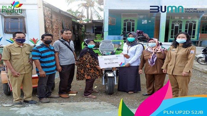 Budidayakan Hidroponik Kampung KB Sriwijaya, PLN Dorong Warga Kelola Lingkungan Dapatkan Pemasukan