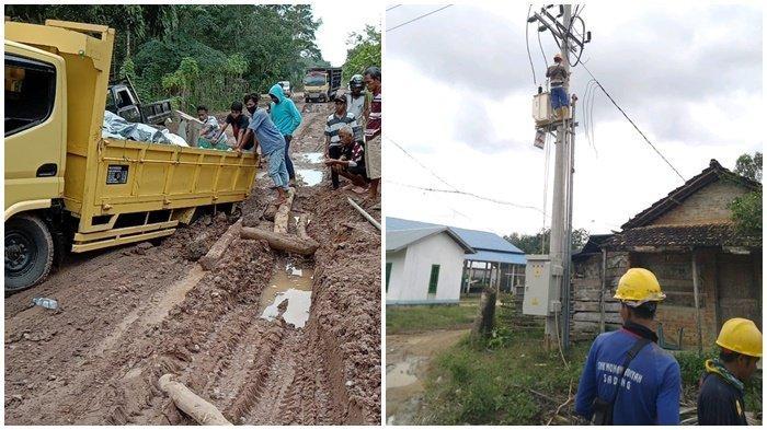 Tembus Medan Sulit, PLN Listriki 947 Pelanggan di Kecamatan Sungai Menang Sumsel