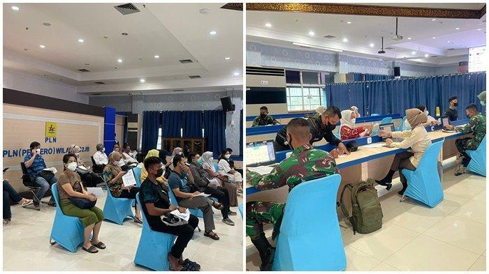 PLN UIW S2JB bekerjasama dengan RS AK Gani, kegiatan vaksinasi terhadap pegawai, tenga alih daya, dan keluarga PLN dengan tenaga kesehatan dari TNI AD, di RS AK Gani, Senin (13/9/2021).