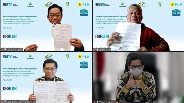 Amankan Pasokan Biomassa, 3 BUMN Sinergi Wujudkan Indonesia yang Lebih Ramah Lingkungan