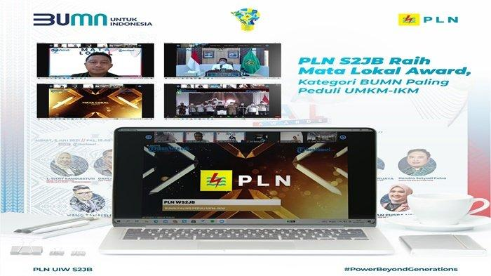 PLN S2JB Raih Mata Lokal Award, Kategori BUMN Paling Peduli UMKM-IKM