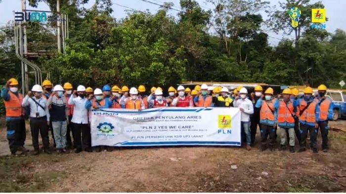 Tingkatkan Kehandalan, PLN Unit Layanan Pelanggan Lembayung Berkolaborasi Bersama Tebing Tinggi