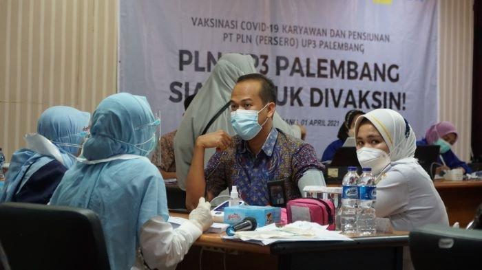 PLN Jadi BUMN Pertama Kali Laksanakan Vaksinisasi Massal Covid-19 di Kota Palembang