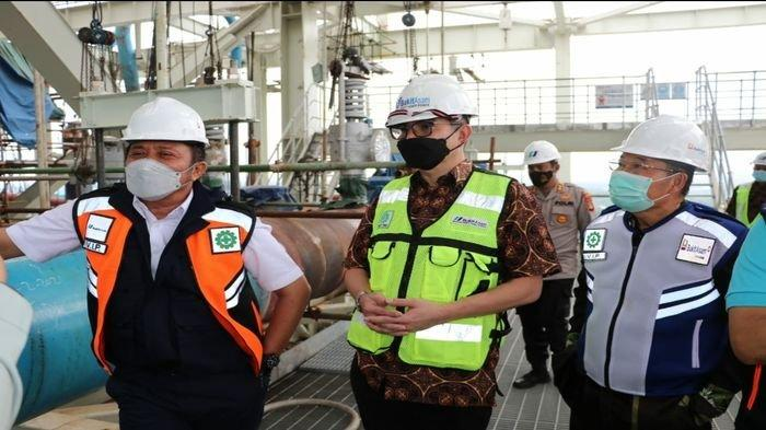 Herman Deru Tinjau Pengerjaan PLTU Tanjung Lalang, Pastikan Tahun Depan Siap Beroperasi
