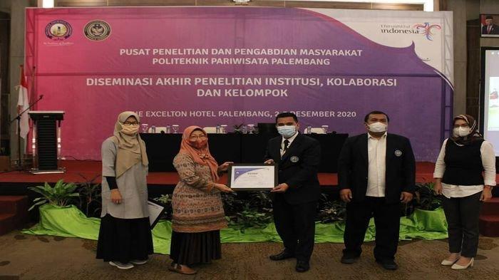 Poltekpar Palembang Gelar Diseminasi Akhir Penelitian Institusi Kolaborasi dan Kelompok