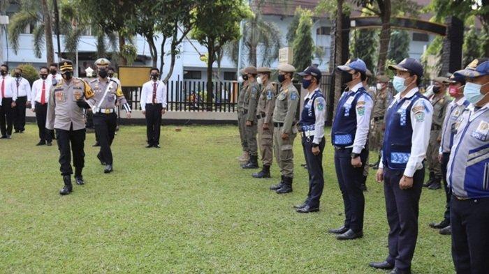 Polres Muara Enim Gelar Apel Pasukan Operasi Patuh Musi 2021