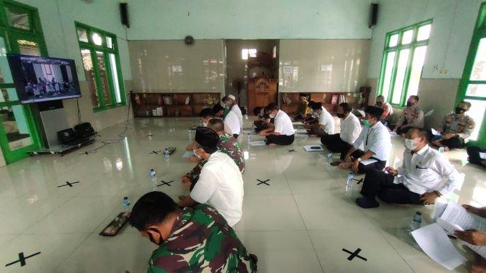 Polres Muara Enim Gelar Mujahadah Kubro Doa Bersama, Agar Bebas dari Covid-19 dan Bencana Karhutla