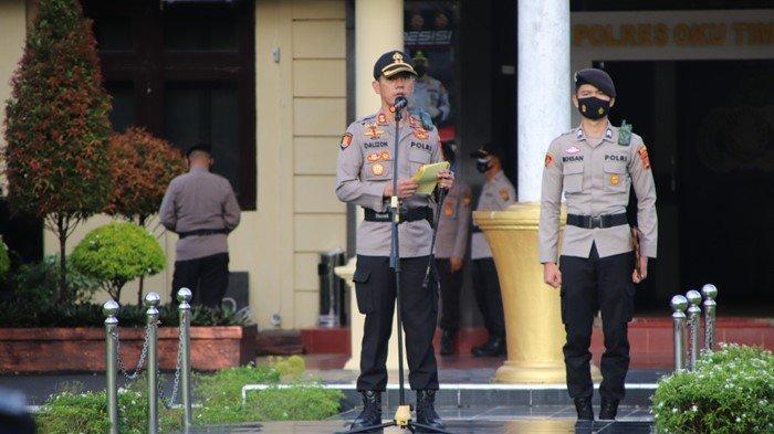 Ini Pil Pahit: Sudah Direhabilitasi Masih Ngeyel, 2 Personel Polres OKU Timur Dipecat
