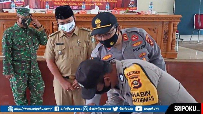 Polsek Sosoh Buay Rayap dan 3 Pilar Kamtibmas Bertekad Minimalisir Penyidikan