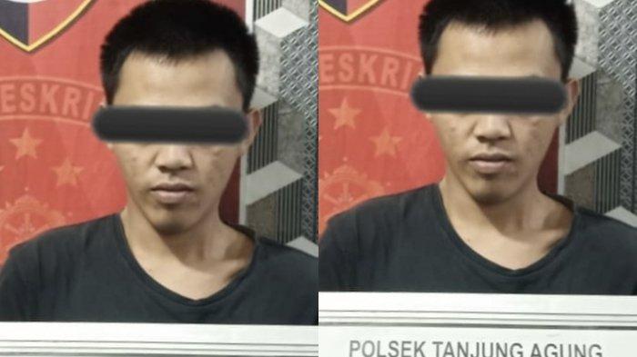 Tim Lebah Polsek Tanjung Agung Berhasil Meringkus Pelaku Pencurian Besi di Ex Kolam 7 PT BSP