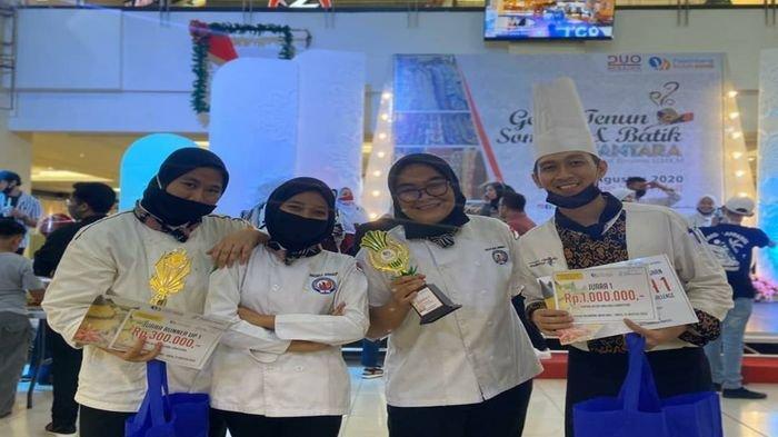 Kreasikan Tumpeng Lebih Menarik, Mahasiswa Poltekpar Palembang Juarai Lomba