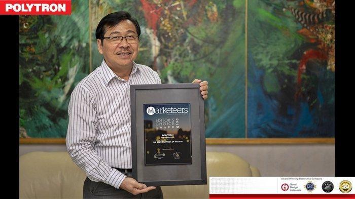 Garansi TV Polytron 5 Tahun Mendapat Pengakuan Positif dari Majalah Marketeers